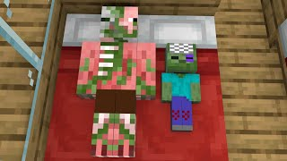 Monster School : Baby Zombie Become Rich - Sad Story - Minecraft Animation