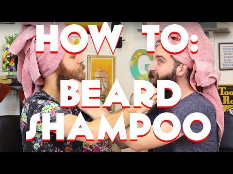 How To: Beard Shampoo