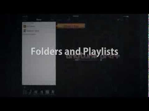 Using Playlists and Folders as Set Lists : Anytune App 3.9 - Slow Downer Music Practice Perfected