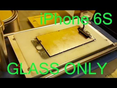 iPhone 6S Glass Only Screen Repair