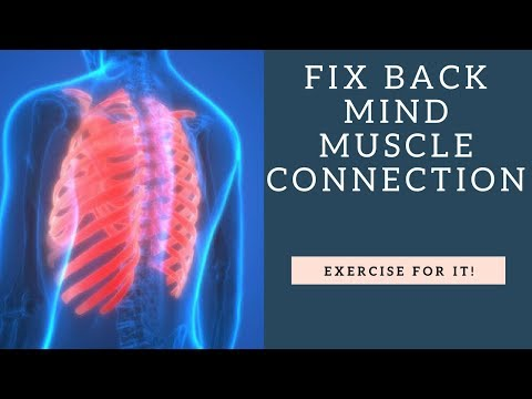 BEST Exercise For Upper Back Mind Muscle Connection | Fix Thoracic Spine Stiffness | Expand Rib Cage