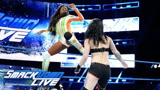 Naomi vs. Ruby Riott: SmackDown LIVE, Dec. 26, 2017