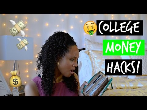 COLLEGE HACKS | How To Save Money in College!