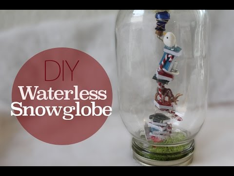 Diy Christmas Snow Globe