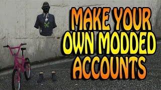 GTA 5 FREE MODDED ACCOUNTS! GTA 5 Modded Accounts 2018 w