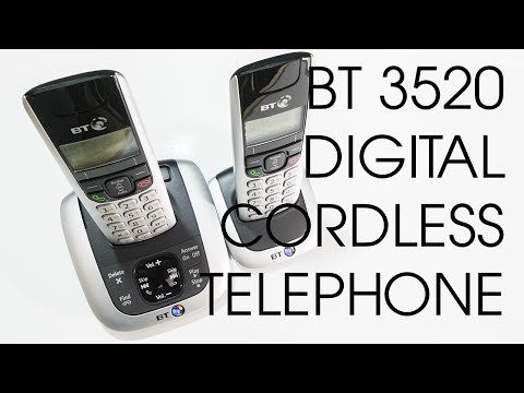 BT 3520 TWIN DIGITAL CORDLESS TELEPHONE WITH ANSWERING MACHINE AND HANDSFREE