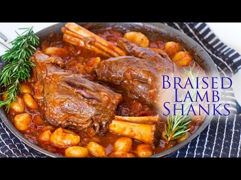 Braised Lamb Shanks with Gnocchi