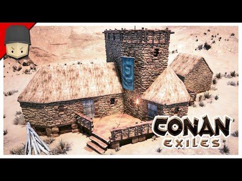 CONAN EXILES - SMALL HOUSE TUTORIAL
