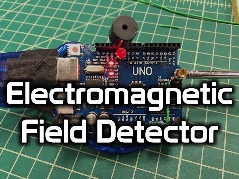 Arduino EMF Detector Prototype