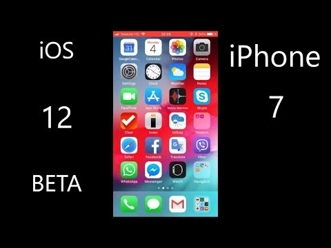iOS 12 developer beta on iPhone 7 speed test & little preview