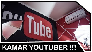 Kamar Youtuber Paling Keren di Dunia !!! (YouTube Wall Painting Ideas)