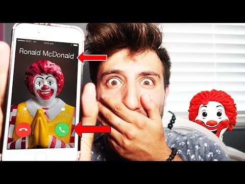 DONT CALL RONALD MCDONALD ON FACETIME AT 3 AM | *THIS IS WHY*