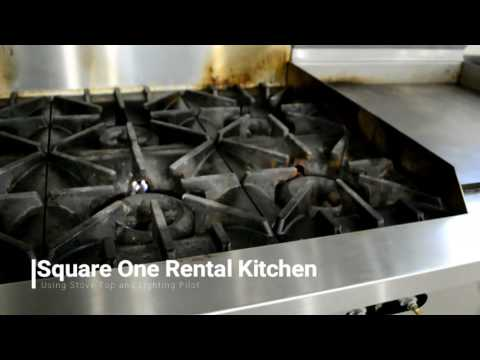 Square One Sunfire Stove Top and Pilot Light