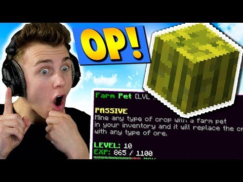 iS THE NEW SKYBLOCK iTEM TOO OP?!?! ( Minecraft Skyblock )