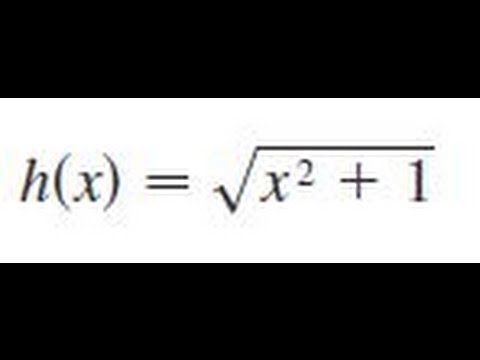 y = sqrt(x^2 + 1), Find the first and second derivatives of the function.
