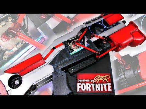Fortnite PC - THE ULTIMATE Custom Water Cooled Gaming PC Build Time Lapse  - DIY Tactical Shotgun