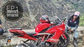 MOTOVLOG || MOST ENJOYED ROADS || EP.1 SPITI RIDE AOG 2019