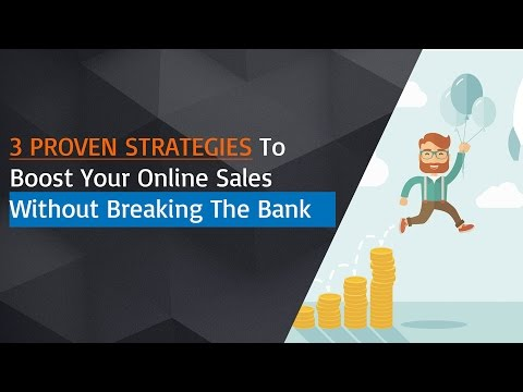 3 Proven Strategies To Boost Your Shopify Sales Or Any Websites Without Breaking Your Piggy Bank