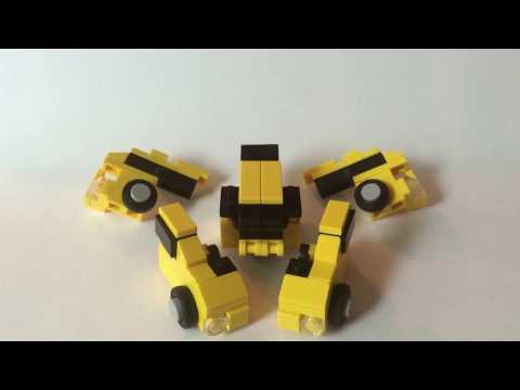 How to buid lego transformers g1 Bumblebee