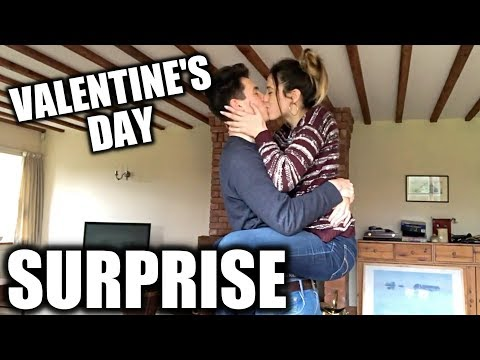 VALENTINE'S DAY SURPRISE!! (LONG DISTANCE RELATIONSHIP)