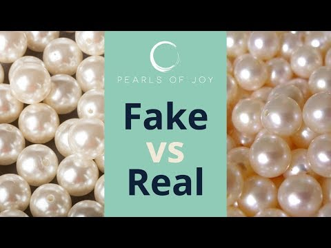 Fake Vs. Real Pearls (Easy 5 sec. Test)
