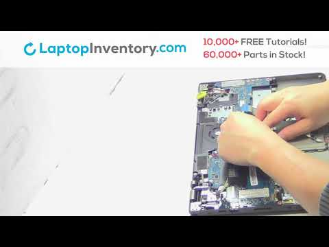 How to Replace Lenovo Thinkpad 20C0 Laptop Motherboard and Fan, Dismantle S120 S240 20CD S1 (Yoga)