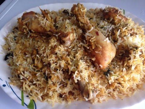 Hyderabadi Chicken Dum Biryani Recipe - Kachche Gosht Ki Chicken Dum Biryani