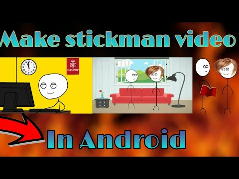 How to make stickman videos in Android