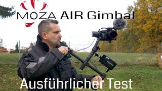 Moza Air Kamera-gimbal Im Ausführlichen Test 📹 Review In Deutsch
