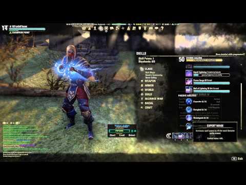 ESO V14 Sorcerer Build Update King Richard 1.6