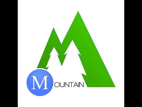 Time Lapse #1:  Mountain Logo
