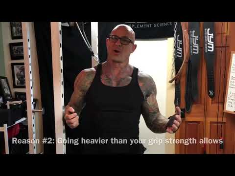 Can you use wrist straps on deadlifts