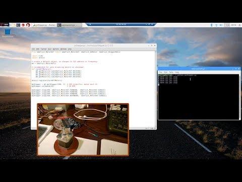 DIY Raspberry pi3 Step Motor Control, via Python Script