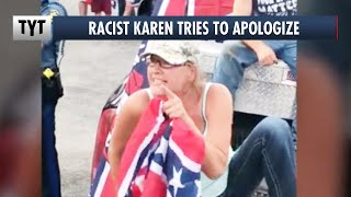 """Racist Karen Backpedals, """"I Blacked Out and Didn't Know What I Was Saying"""""""