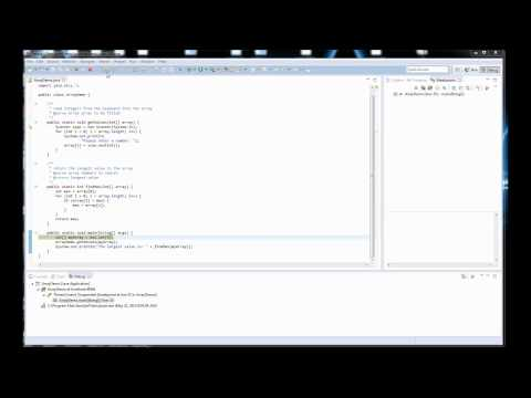 Java #E2: An Introduction to Debugging with Eclipse