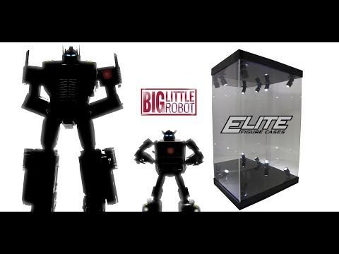 Elite Figure Cases E01 & E02 Display Cases: Unboxing and Instruction