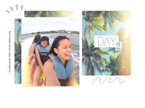 VLOG #44: BANANA BOAT + JETSKI IN PALAWAN, COWRIE ISLAND (day 2 - part 2)