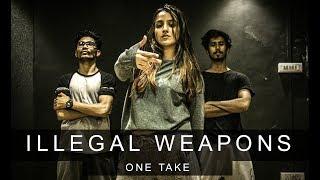 ILLEGAL WEAPON x MI GENTE | One Take | Tejas Dhoke Choreography | Team DanceFit
