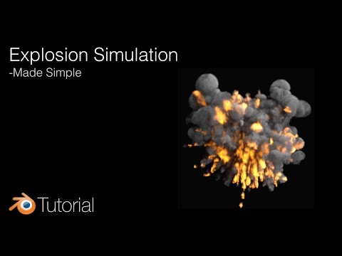 Blender Tutorial: Quick Explosion Animation