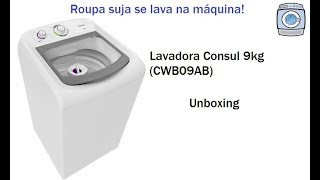 Download Lavadora Consul 9kg (CWB09AB) - Unboxing Video