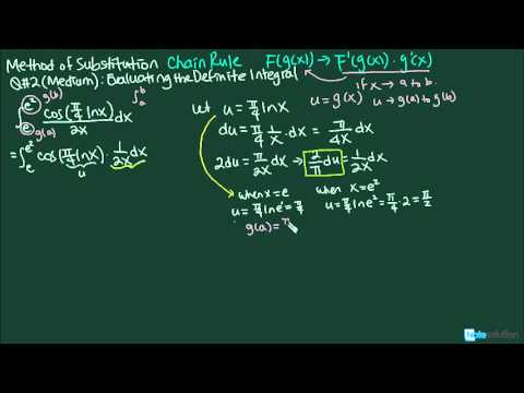Calculus I: How to find Definite Integral Using Substitution (Medium Lvl Question)
