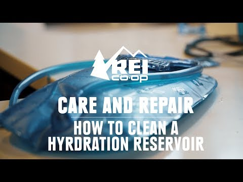 How to Clean a Hydration Bladder || REI