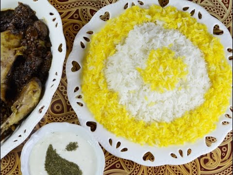How to make best Persian Saffron Rice easily