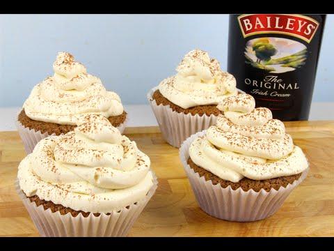Mocha Irish Cream Cupcakes