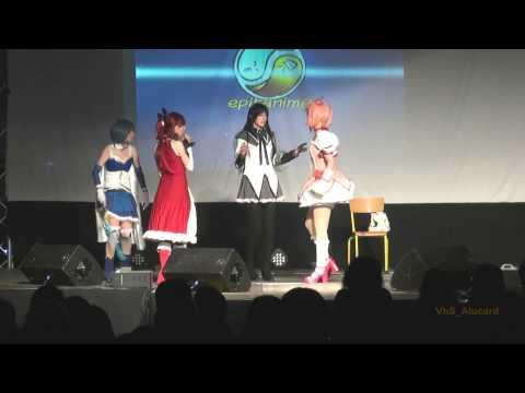 Homura, Madoka, Sayaka & Kyōko (Puella Magi Madoka Magica)