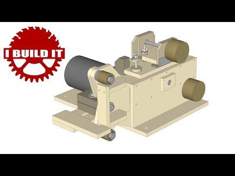 Assembling The Wooden 2x72 Belt Grinder