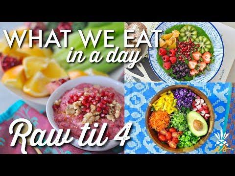 What I Eat In A Day (Raw till 4) + Farmer's Market Haul | Vegan + Plant-based