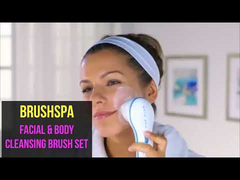 Cleansing Facial & Body brush - Spa like experience in your shower