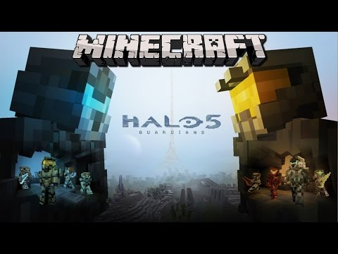 Minecraft HALO THE MOVIE!! EPISODE 1: DESTROY YOURSELF, TO SAVE YOURSELF!!