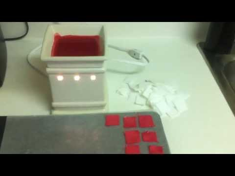 How to make Scentsy Felt Samples